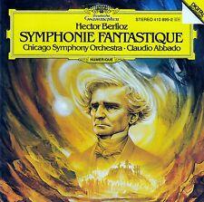 BERLIOZ : SYMPHONIE FANTASTIQUE - CHICAGO SYMPHONY ORCHESTRA, ABBADO / CD