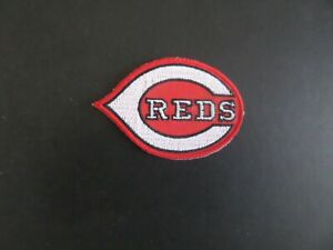 CINCINNATI REDS MLB EMBROIDERED  2 x 3 Iron On Patch