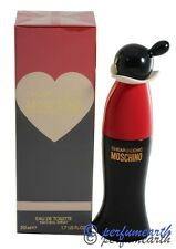 CHEAP AND CHIC 1.7/1.6 OZ EDT SPRAY FOR WOMEN BY MOSCHINO & NEW IN A BOX