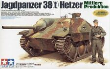 Tamiya 35285 1/35 Scale Model Kit German Tank Destroyer Jagdpanzer 38t Hetzer