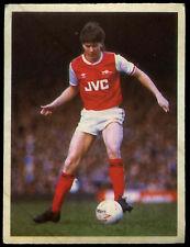 Steve Williams Arsenal Daily Mirror 1986 Football Sticker (C211)