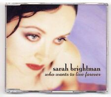 Sarah Brightman Maxi-CD Who Wants To Live Forever-German 4-Track CD
