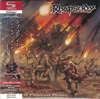 RHAPSODY - Power Of The Dragonflame Japan Mini LP SHM-CD Luca Turilli