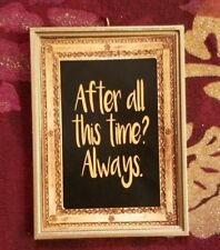 After All This Time? Always Snape Christmas Ornament For Harry Potter Fans