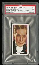 1935 Ardath Film Stage & Radio Sm. #1 GEORGE ARLISS PSA 7 NM