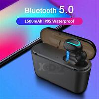 TWS XGODY Bluetooth 5.0 Headset  Wireless Earphones Earbuds Sports Headphone US