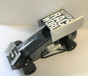 1/18 Scale Buds Racing BRP Super Oval Outlaw RC Black Sprint Car Vintage