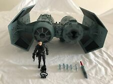 Star Wars Imperial Tie Bomber (Wal-Mart Exclusive) 2010 + Pilot *100% Complete*