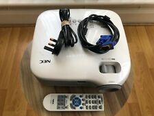 NEC VT676 Projector + remote