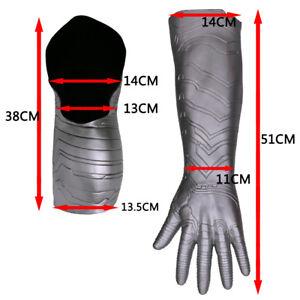 Cosplay Civil War Winter Soldier Bucky Barnes Armor Arm Halloween Adult Arm Prop