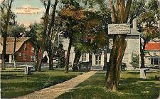 1914 Old Fort Johnson Near Amsterdam, New York Postcard