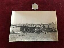 photographie ancienne avion N 139 crash