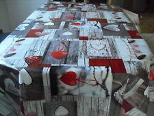 Tischdecke Wachstuch rund 160cm Blumenranken 1073-4 Abwaschbar