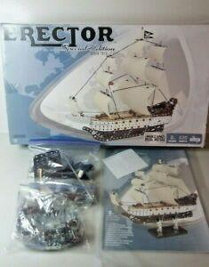 Erector Set Special Edition Pirate Ship / Boat 6024595 Meccano Complete Box Wear