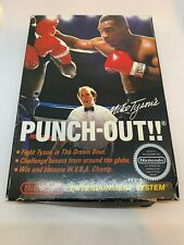 Mike Tyson's Punch-Out (Nintendo, NES) Box Included Authentic! Fast Free Shippin