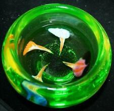 Bowl Uranium Art Glass