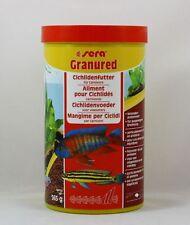 Sera Granured 1000ml Cichlid Feed for Carnivore Fish 16,98 €/ L