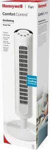 Honeywell HYF023W Comfort Control Tower Fan - White