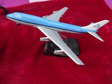 AVION METAL BOEING 747/300-KLM(13 CM X 15 CM) OCCASION