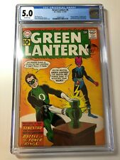 2nd Sinestro in Green Lantern #9 comic CGC 5.0 Pence edition