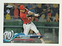 2018 Topps Chrome #175 VICTOR ROBLES RC Rookie Washington Nationals
