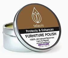 Lavender Beeswax Natural Wax Wood & Furniture Polish Neutral Cream - 100% Pure