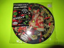 "DEMENTED ARE GO / DEADBOLT SPLIT 45 7"" PIC DISC PICTURE"
