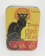 Le Blanc Rose Soap in a Tin 100g Chat Noir