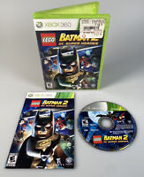 LEGO Batman 2: DC Super Heroes - Xbox 360 Game - Complete W/ Manual - Tested
