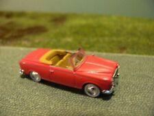 1/87 UH Norev Peugeot 403 Cabriolet rot