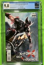 CGC 9.8 W X-Force: Sex And Violence #2 HTF 2nd Print Dell'Otto Variant