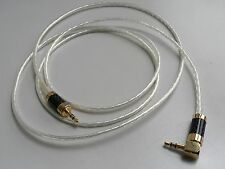 HiFi HFV5N35 3.5mm Pure Silver Audio Cable Stereo Line in AMP