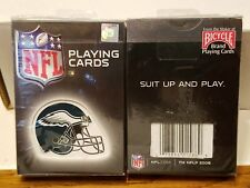 NFL PHILADELPHIA EAGLES POKER DECK BICYCLE PLAYING CARDS BRAND NEW REAL NICE!