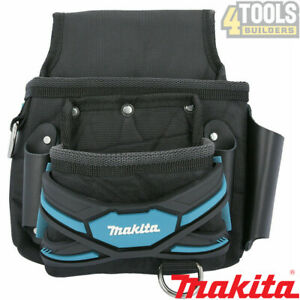 Makita E-05131 New Blue Range 2 Pocket Screw Nail Fixing Tool Belt Holder Pouch
