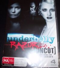 Underbelly (Channel 9) Razor Uncut (Australia Region 4) DVD – New