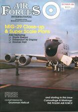AIR FORCES INTERNATIONAL DEC 88 POLISH F2B_SWISS AF_MIG-29_SHORT C-23 SHERPA USA