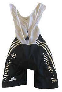 "Cycling Adidas T-Mobile Bib Shorts Size 32"" NLV"