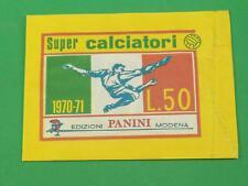 [BUS-051] BUSTINA SIGILLATA ORIGINALE PANINI SUPER CALCIO 1970/71