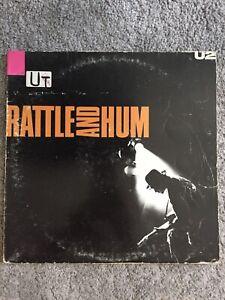 U2 Rattle And Hum Doppio Album 33 Giri Vinile