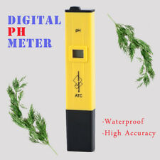 Portable Digital PH Meter Tester For Pool Wine Water Quality Pen Monitor Tool