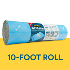 Scotch Flex & Seal Shipping Roll, 15 in x 10 Ft, Simple Packaging Alternative to