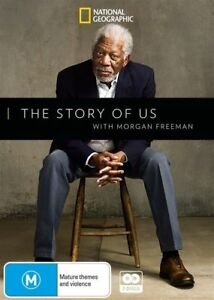 The Story Of Us With Morgan Freeman (2DVD, 2018) Brand new!
