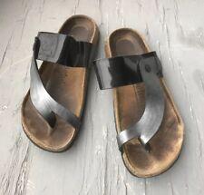 BIRKENSTOCK Betula  Birko-Flor Footbed Thong Sandals, Women's Size 8