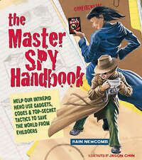 The Master Spy Handbook: Help Our Intrepid Hero Use Gadgets, Codes &-ExLibrary