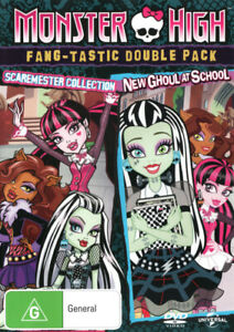MONSTER HIGH: GHOULICIOUS DOUBLE FEATURE (2015) [NEW DVD]