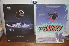 New Lot of 2 Extreme Sports Skiing DVD's Get Lucky and All I can