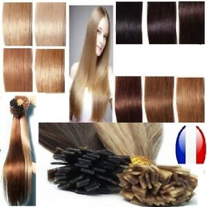 50 100 150 Extensions cheveux Installation Hot 100% Natural Remy 19 5/16in