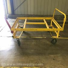 "Industrial Towable Cart with Locking Tongue, 61""L x 29""W x 44""H Usip"