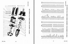 JEEP WILLYS 4x4 TRUCK DETAILED PARTS SERVICE MANUAL WW2 ARMY 1940's ARCHIVE