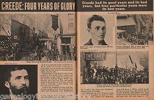 Creede, Colorado - Four Years Of Mining Glory-Genealogy